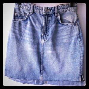 H&M Raw Hem Skirt